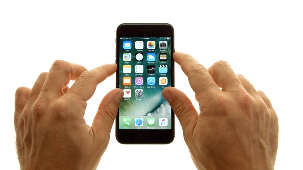 """Priverstinis """"iPhone7"""" perkrovimas"""