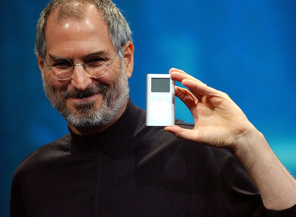 Steve Jobs ir iPod