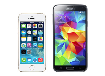 iPhone 5 vs Galaxy S4 vs Galaxy S3