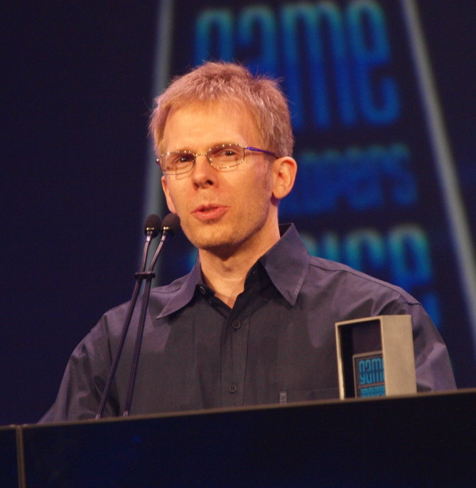John Carmack kalba Game Developers Conference 2010 po to kai jam Game Developers Choice apdovanojimų ceremonijoje buvo įteiktas Lifetime Achievement Award apdovanojimas.
