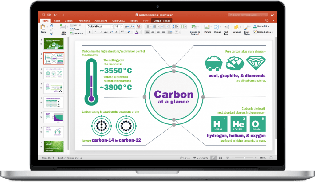 Microsoft PowePoint 2016 for Mac