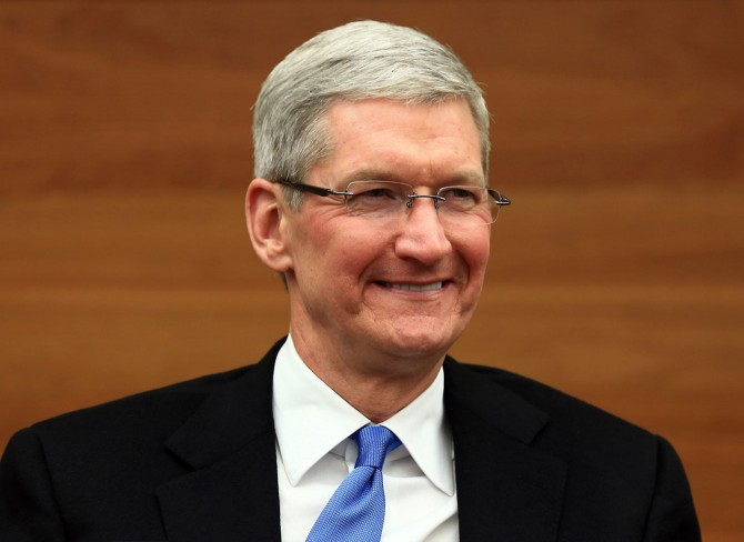 Tim Cook. Nuotrauka: Fortune/Getty