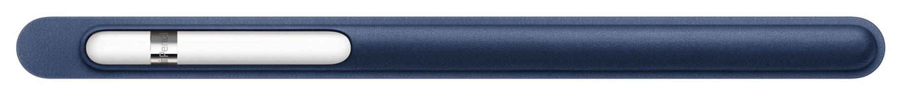 "Odinis ""Midnight Blue"" spalvos ""Apple Pencil"" dėklas."