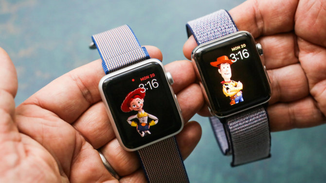 Apple Watch Disney ciferblatai