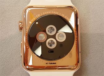 Auksinis Apple Watch Edition [video]