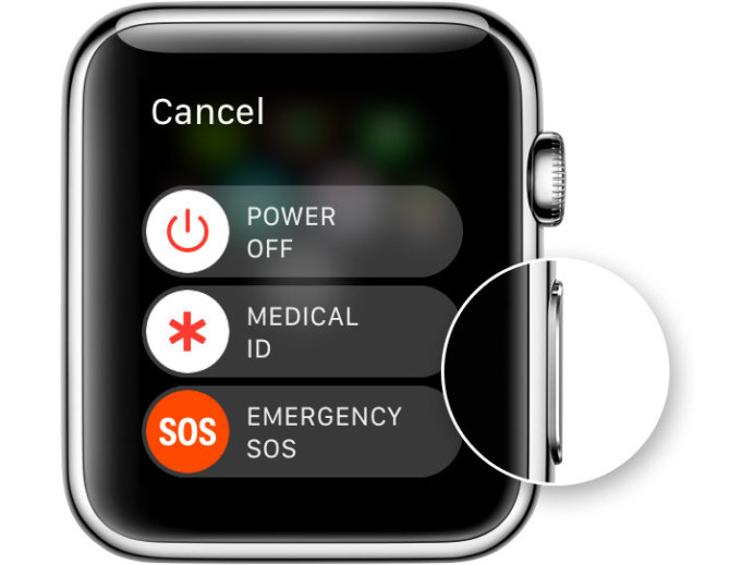 Apple Watch (watchOS 3) perkrovimas