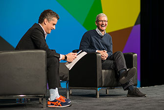 Tim Cook: Apple neapjungs iOS ir OS X