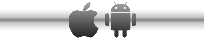 Apple iPhone, iOS ir Android