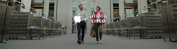Apple + Cisco