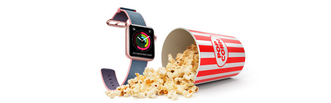 """Apple Watch"" teatro režimas (Theater Mode)"