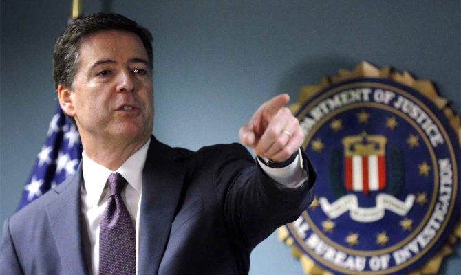 FTB direktorius James Comey