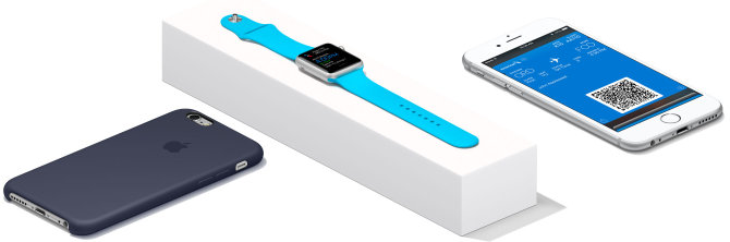 iPhone ir Apple Watch kelionėms