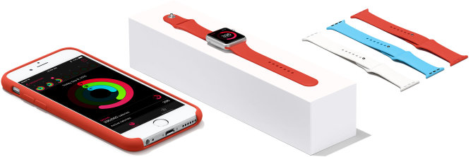 iPhone ir Apple Watch sportui