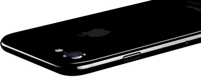 """Jet Black"" spalvos ""iPhone 7"""