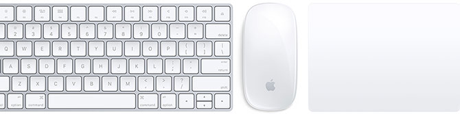 "Apple ""Magic Keyboard"", ""Magic Mouse 2"" ir ""Magic Trackpad 2"""
