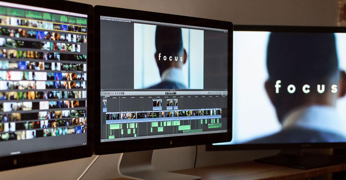Filmo Focus kūrimui buvo naudojama Apple programinė įranga (Final Cut Pro X, Logic Pro X, Motion 5), Mac kompiuteriai bei iPad ir iPhone