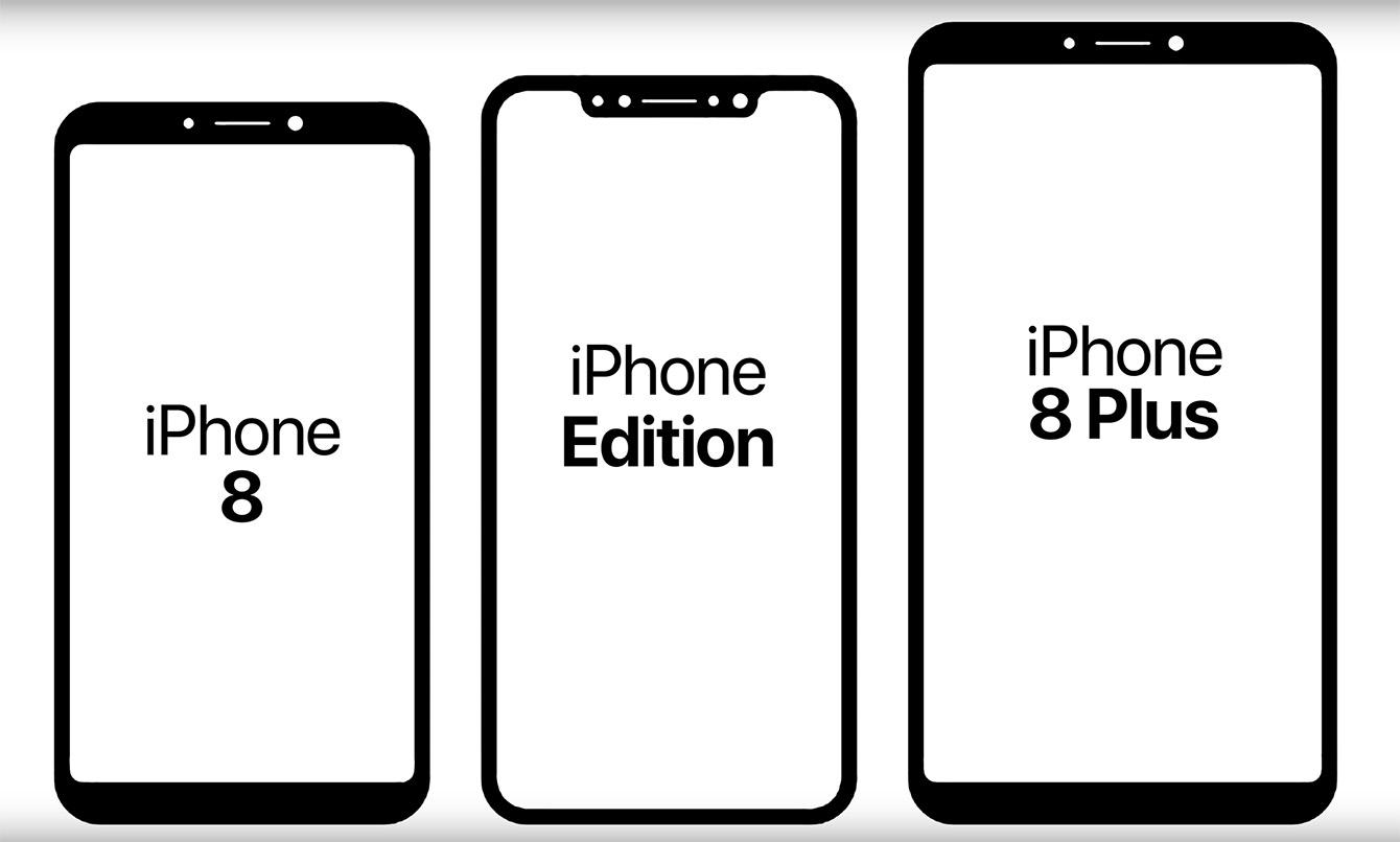 """Nauji 2017 metais pasirodysiančių """"iPhone"""" pavadinimai"""
