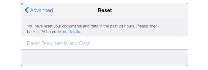 Apple šį veiksmą tai pačiai paskyrai leidžia atlikti vieną kartą per 24 valandas