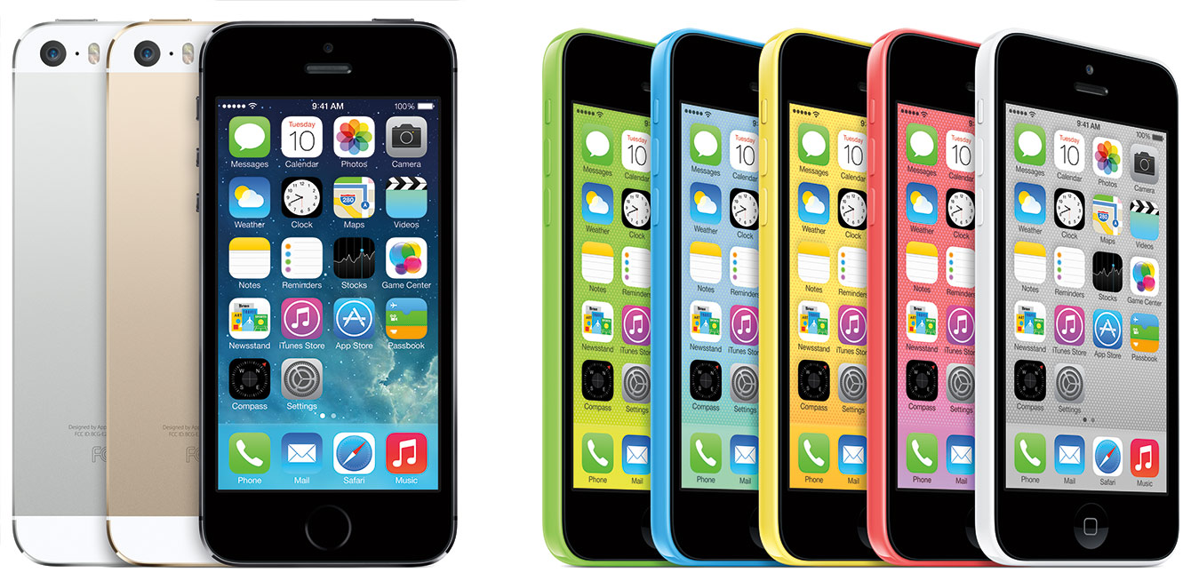 iPhone5s ir iPhone5c