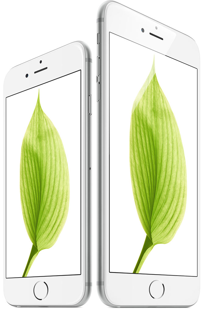 iPhone 6 ir iPhone 6 retina ekranas