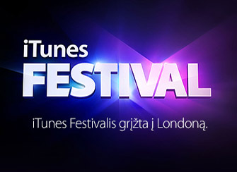 Apple iTunes Festival 2013 - Apple TV kanalas ir iOS aplikacija