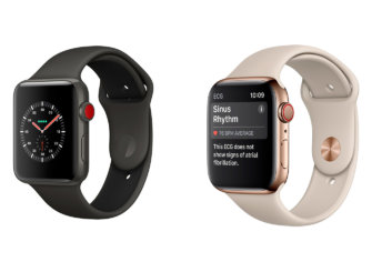 Apple Watch Series 4 ar Series 3: kurį pasirinkti?