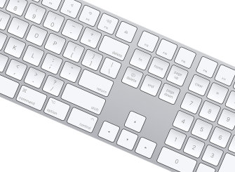 Apple išleido Magic Keyboard su skaičių bloku