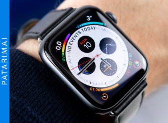Ką gali Apple Watch?