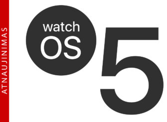 Apple išleido watchOS 5