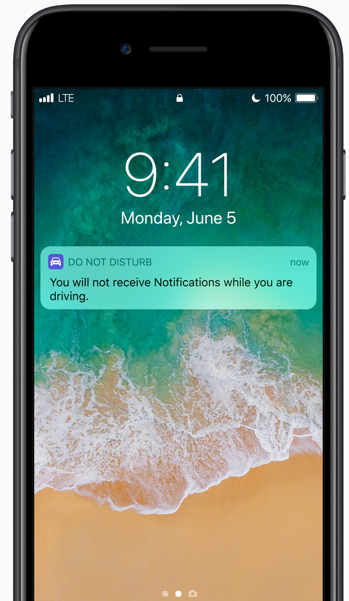 iOS 11 - Do not disturb while driving