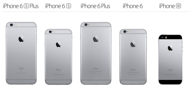 """Space Gray"" spalvos ""iPhone 6s"", ""iPhone 6"" ir ""iPhone SE"""