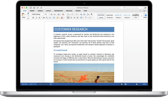 Microsoft Office for Mac 2016 - Word