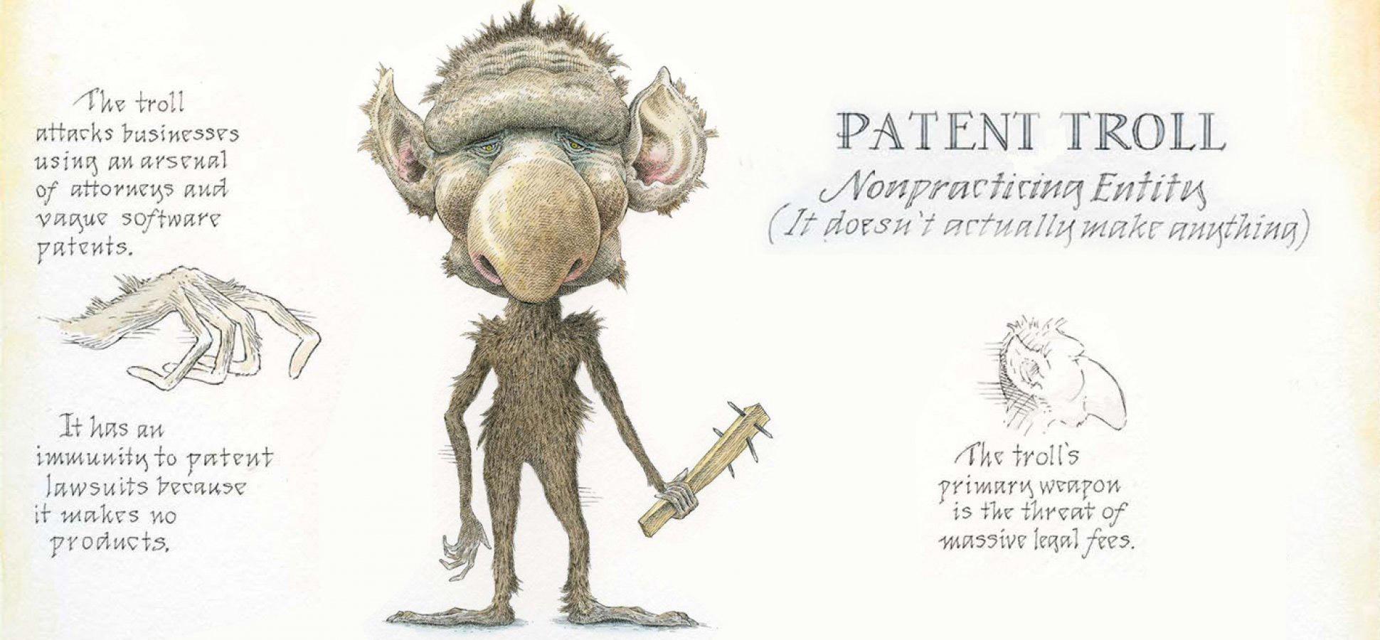 patentų trolis