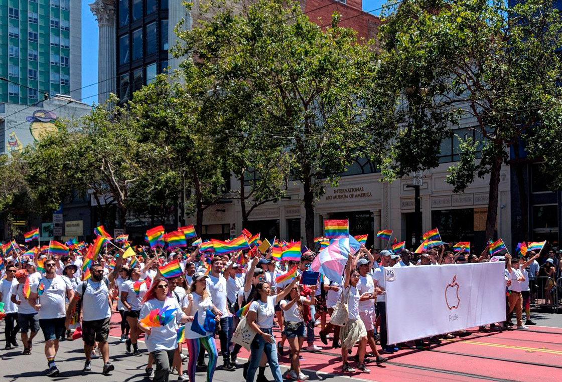 Pride Parade, 2018 San Francisco