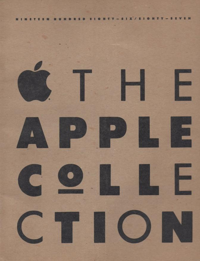 """The Apple Collection"" 1986"